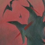 Detail from Sunset Of The Birds by Mark Sheeky
