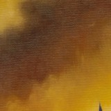 Detail from The Bombing Of Dresden by Mark Sheeky