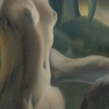 Detail from Christ In The Garden Of Gethsemane by Mark Sheeky