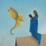 Detail from Annunciation by Mark Sheeky