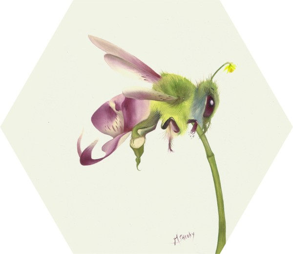 Orchibee by Mark Sheeky