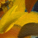 Detail from Sunflower by Mark Sheeky