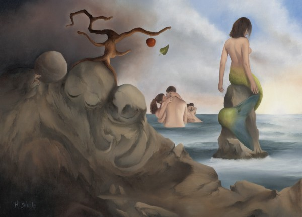 The Mermaid's Song: Mermaid Completely Accepting A Loveless Life by Mark Sheeky